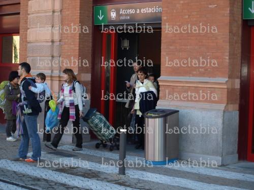 saliendo de Atocha